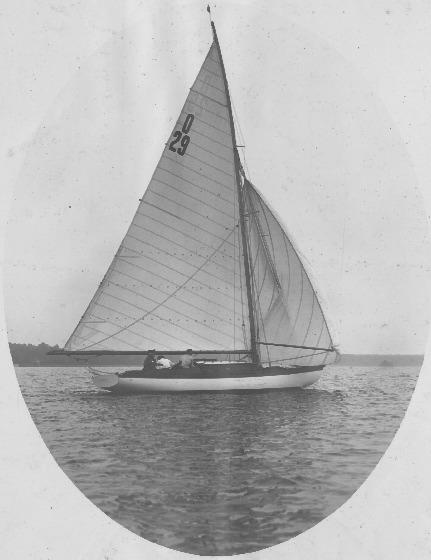 75qm Nationaler Kreuzer Albatross IV