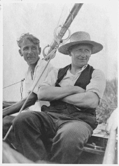 Männer an Bord
