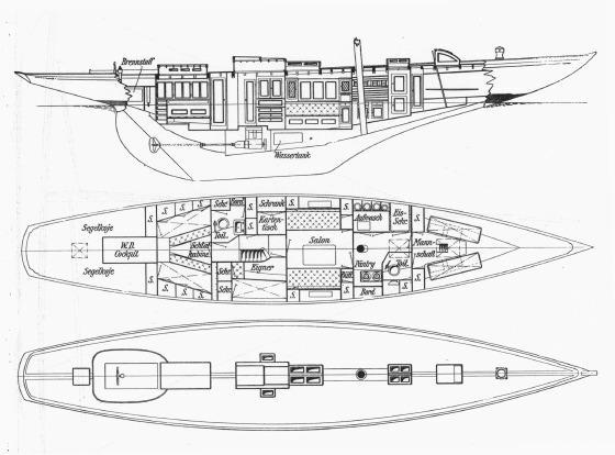150 qm Seefahrtkreuzer