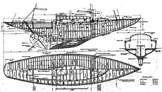 20 qm Küstenkreuzer Bauplan